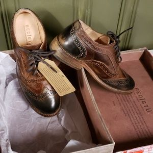 BED STU WING TIP LOAFERS